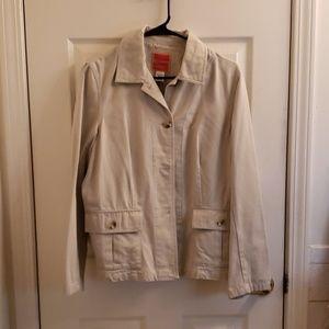 Women's Isaac Mizrahi Large Jacket Tan